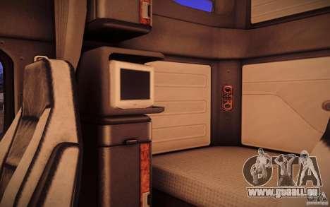 Freightliner Argosy für GTA San Andreas Rückansicht