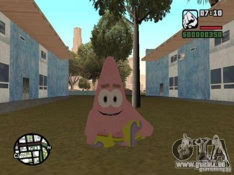 Patrick für GTA San Andreas sechsten Screenshot