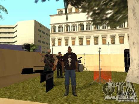 La bande de Gaza pour GTA San Andreas septième écran