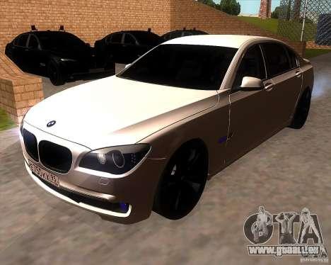 BMW 750Li 2010 pour GTA San Andreas