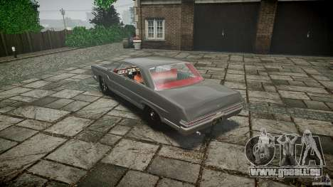 Ford Mercury Comet Caliente Sedan 1965 für GTA 4 hinten links Ansicht