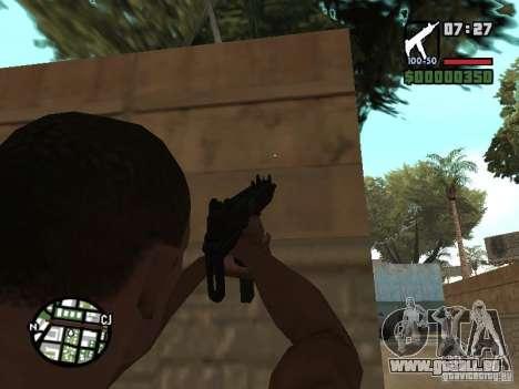 UZI für GTA San Andreas zweiten Screenshot