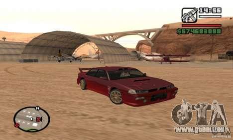 Verlegenheit Auto für GTA San Andreas