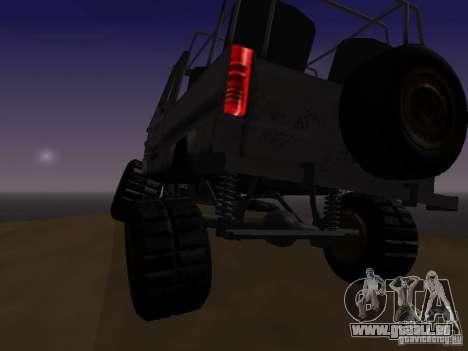 LuAZ 969 Offroad für GTA San Andreas Innenansicht