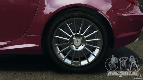 Mercedes-Benz SLK 55 AMG 2010 pour GTA 4 est un côté