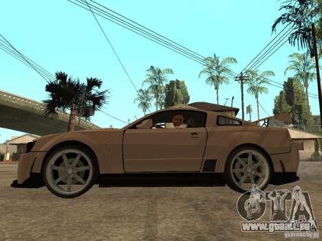Ford Mustang GT pour GTA San Andreas laissé vue