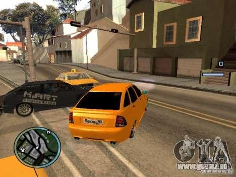 Lada Priora DagStailing für GTA San Andreas rechten Ansicht