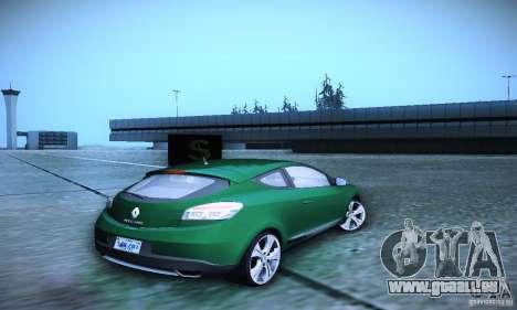 Renault Megane Coupe für GTA San Andreas zurück linke Ansicht