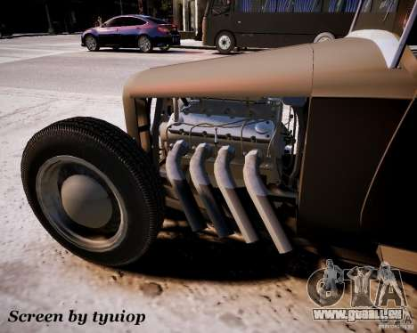 Roadster High Boy pour GTA 4 Vue arrière de la gauche