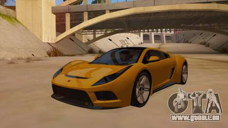 Saleen S5S Raptor 2010 für GTA San Andreas