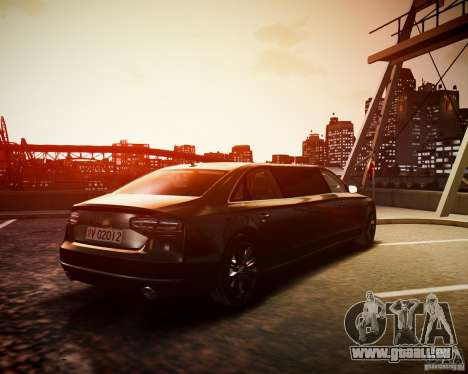 Audi A8 Limo für GTA 4 linke Ansicht