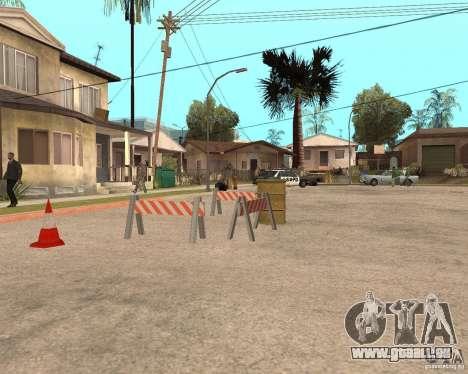 Remapping Ghetto v.1.0 pour GTA San Andreas deuxième écran