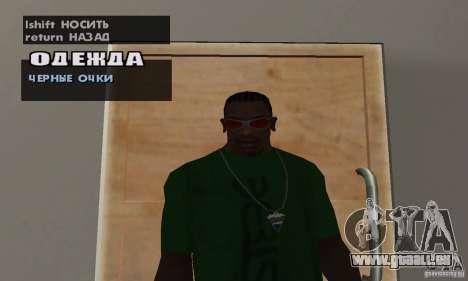 Brille für GTA San Andreas