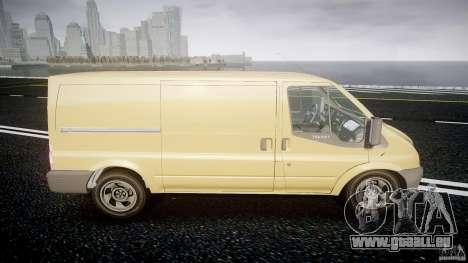 Ford Transit 2009 für GTA 4 Innenansicht