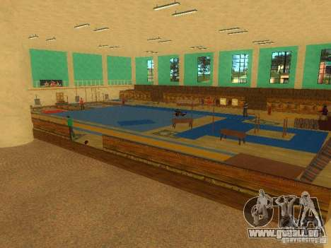 Tricking Gym pour GTA San Andreas