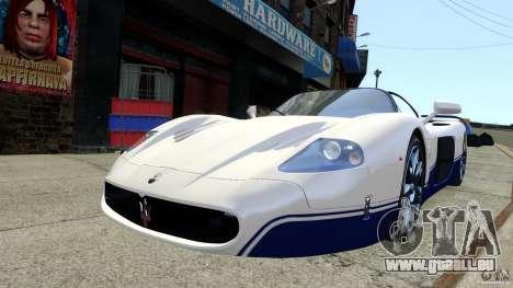 Maserati MC12 für GTA 4 hinten links Ansicht