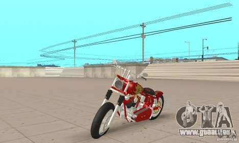 Orange County old school chopper Sunshine für GTA San Andreas