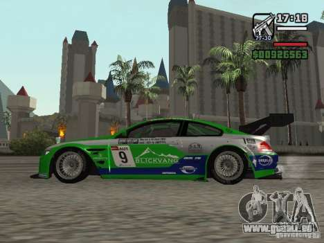 Alpina B6 GT3 für GTA San Andreas linke Ansicht