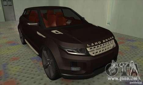 Land Rover LRX pour GTA San Andreas laissé vue