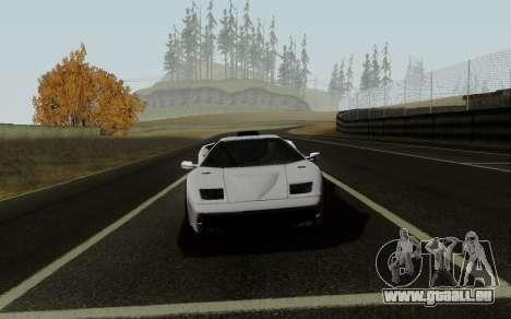 Lamborghini Diablo GTR TT Black Revel pour GTA San Andreas vue de droite