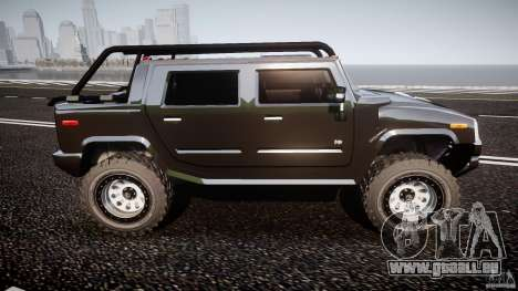 Hummer H2 4x4 OffRoad v.2.0 für GTA 4 Innenansicht