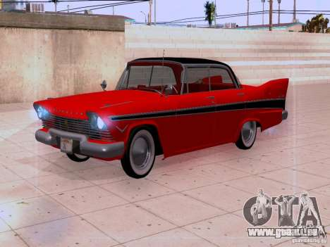 Plymouth Belvedere Sport Sedan 1957 für GTA San Andreas