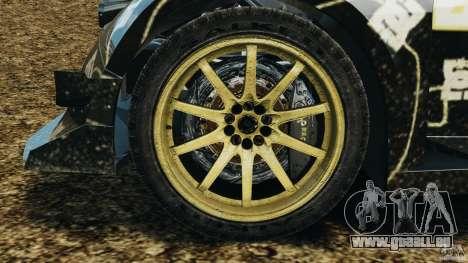 Colin McRae BFGoodrich Rallycross pour GTA 4 Vue arrière