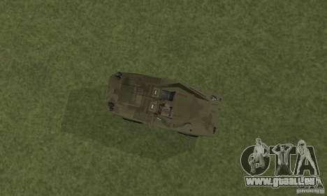 BRDM-1 Haut 3 für GTA San Andreas Rückansicht