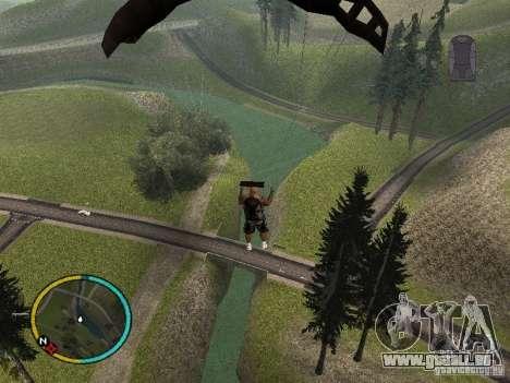 GTA IV HUD v2 by shama123 pour GTA San Andreas quatrième écran
