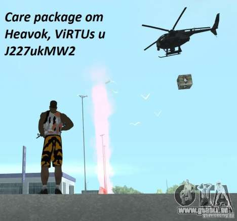 Care Package from MW2 für GTA San Andreas
