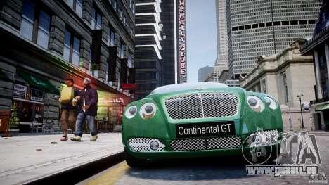Bentley Continental GT für GTA 4-Motor