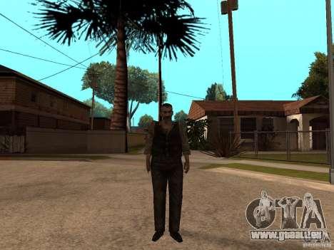 Mise à jour Pak personnages de Resident Evil 4 pour GTA San Andreas cinquième écran