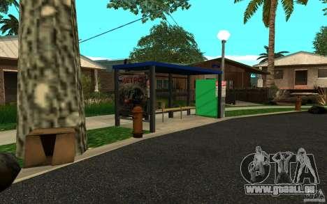 Nouvel arrêt de bus pour GTA San Andreas troisième écran