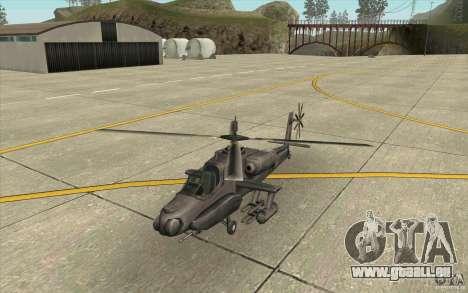 Steal Hunter pour GTA San Andreas laissé vue