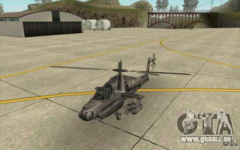Steal Hunter für GTA San Andreas linke Ansicht