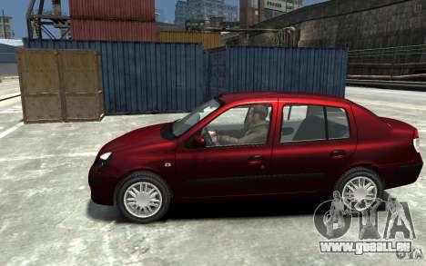 Renault Clio 1.4L für GTA 4 linke Ansicht