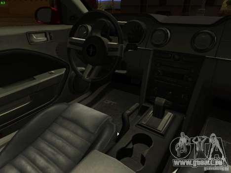Ford Mustang GT 2005 Tuned für GTA San Andreas Seitenansicht