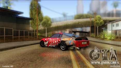 Toyota Supra HELL für GTA San Andreas linke Ansicht