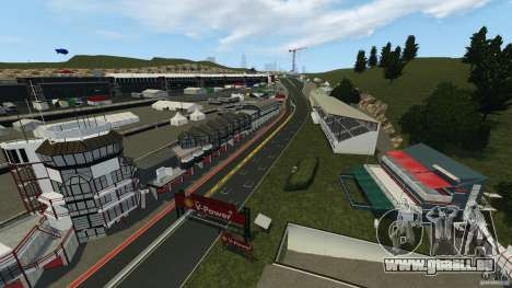 SPA Francorchamps [Beta] für GTA 4 dritte Screenshot