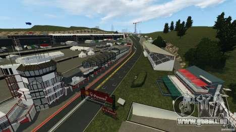 SPA Francorchamps [Beta] für GTA 4 dritte Screenshot