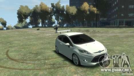 Ford Fiesta pour GTA 4 est un droit