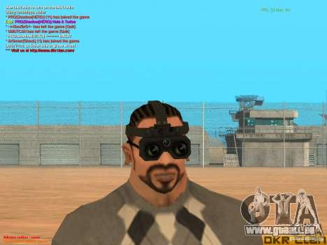 Thermal Goggles für GTA San Andreas