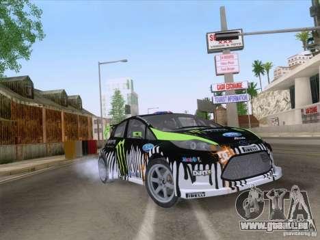 Ford Fiesta pour GTA San Andreas vue intérieure