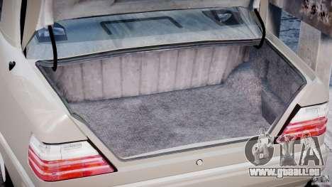 Mercedes-Benz W124 E500 1995 pour GTA 4 est un côté