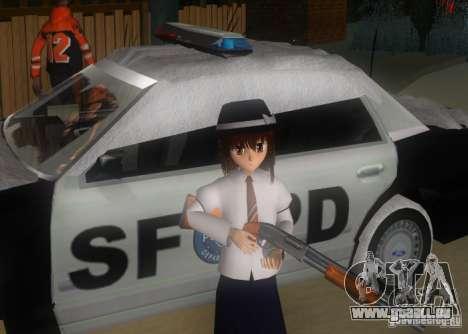 Anime Characters für GTA San Andreas neunten Screenshot