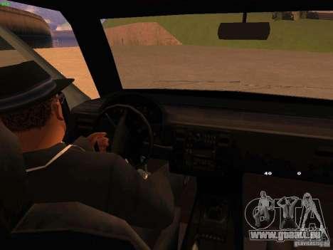 Moonbeam NN pour GTA San Andreas vue intérieure