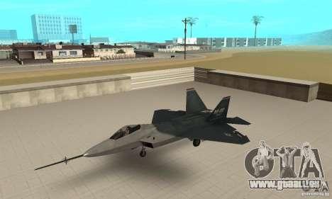 YF-22 Standart für GTA San Andreas