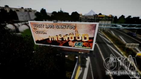 Realistic Airport Billboard für GTA 4 sechsten Screenshot