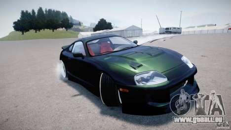 Toyota Supra JZA80 pour GTA 4 est un côté