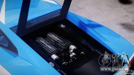 Lamborghini Gallardo LP560-4 Polizia pour GTA 4 est un côté